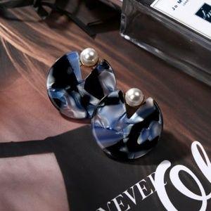 3 For $25/Marble Stud Earrings